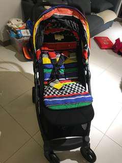 Mamas & papa armadillo liner stripe stroller