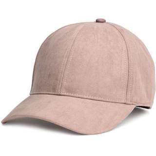 H&M Suedette Baseball Hat