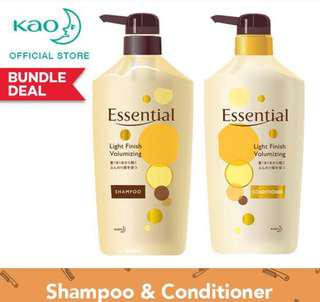 Essential shampoo and conditional 750ml