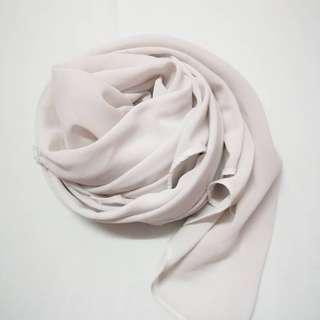 Plain shawl