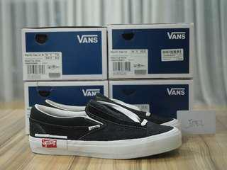 7.5US-11US Vans Cut and Paste / Deconstructed Slipon Black