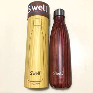 🌳 美國 著名Swell 保暖保溫瓶 熱水壺 冷熱水樽 真空樽  Thermos Bottle 文青木系 Wood style