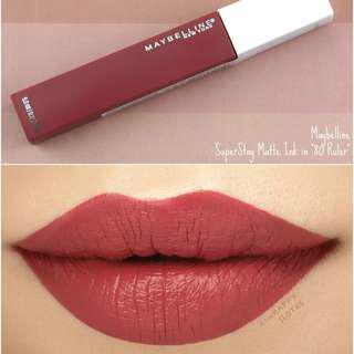 SuperStay Matte Lipstick Maybelline