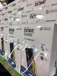 Whitestone dome glass for note 9