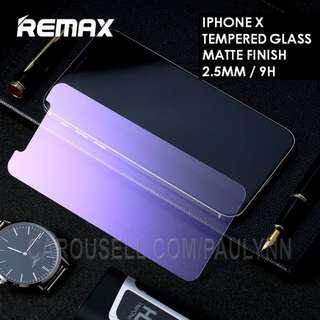 Remax Tempered Glass Iphone X Tempered Glass Eye Protection