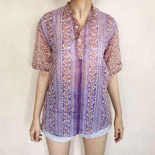 Tropical Cotton Shirt