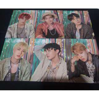 [Ready stock] Bts summer package official mini poster