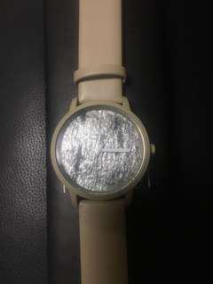 Forrest Silver Shine Stone Minimalist Watch