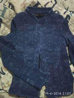 Zara dark blue semi sweater
