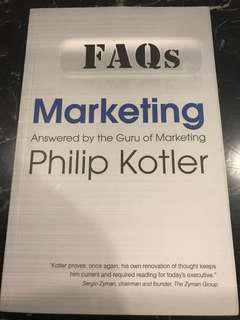 FAQs on Marketing : Answered by the Guru of Marketing Philip Kotler