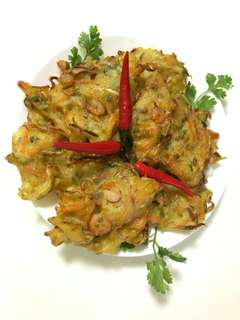Vegetable & Prawn Fritter