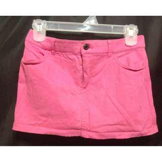 ABERCROMBIE & FITCH Pink Mini Skirt
