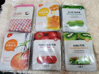 Korean Face Mask - Assorted
