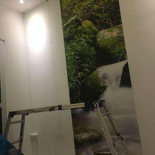 Customize_wall paper/mural