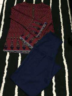 Palazo & Blouse set