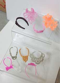 Barbie accessories Set