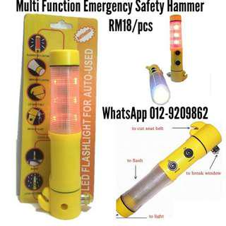 Multi Function LED and Hammer