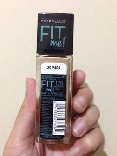 Maybelline fitme matte foundation shade 128