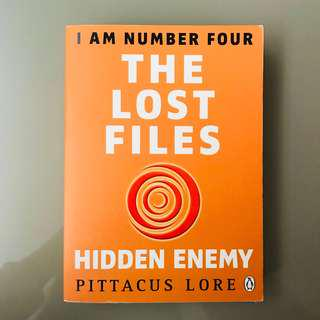 The Lost Files; Hidden Enemy — Pittacus Lore