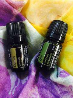 Doterra essential oil - dill and cumin each 5ml