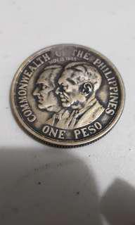 1936 Commonwealth One peso