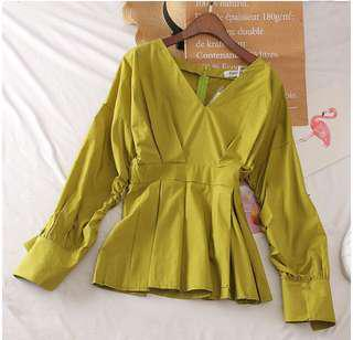 FREE POSTAGE LONG SLEEVE BLOUSE