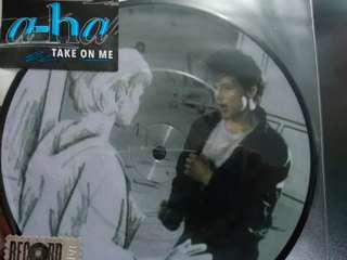 "A-Ha Take On Me 30th Anniversary Picture Disc Vinyl LP 7"" 黑膠"