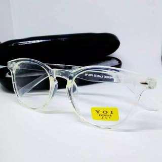 Kacamata Oval Bening