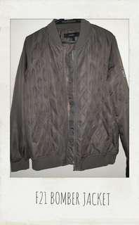 REPRICED F21 BOMBER JACKET