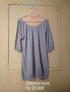 blouse sabrina model