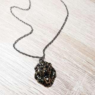 Brass Lion Necklace (H&M x Beyoncé)