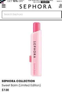 Sephora Sweet Balm in Pink