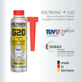 VOLTRONIC G2O Valve & Fuel injector Cleaner.