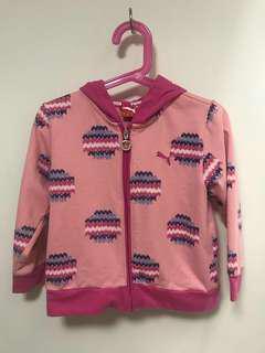 Puma 女童運動外套