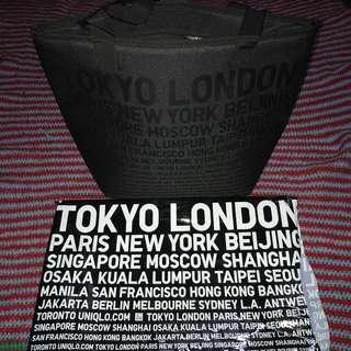Uniqlo Kuala Lumpur Tokyo London Paris New York Bag