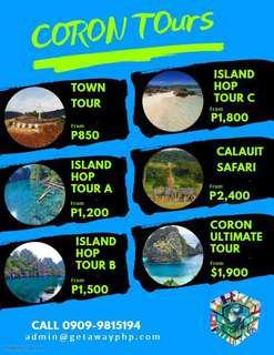 Coron Tours