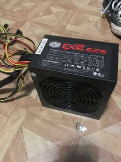 Faulty Cooler Master Power Supply Unit (PSU)