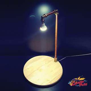 Custom Wooden Base LED Light. Terrarium Light , Aquarium Light, Paludarium Light, Industrial Light.