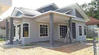 Rumah Bungalow / Kelantan Jelawat, Bachok. Direct Owner.