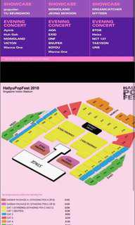 🚚 selling 1 HallyuPopFest cat one ticket for Day 2 (Sat)