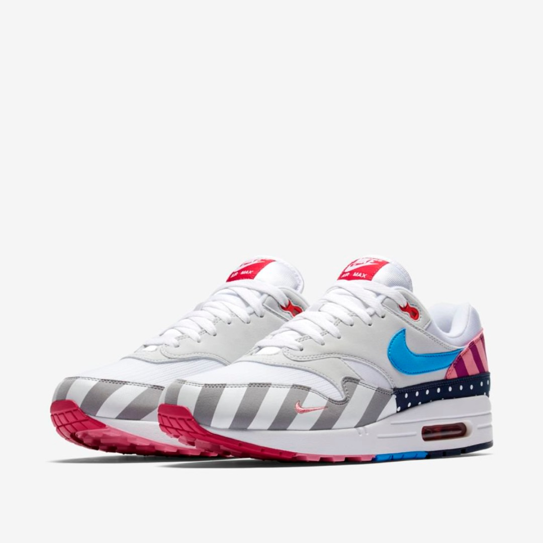 26e6e27a0b6e 🔥 In Stock🔥 US9 11.5 Nike Air Max 1 Parra (2018)