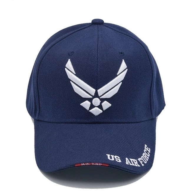 0e3db13e18e 🆕! US Air Force Pilot Trucker Navy Blue Baseball Cap  OK
