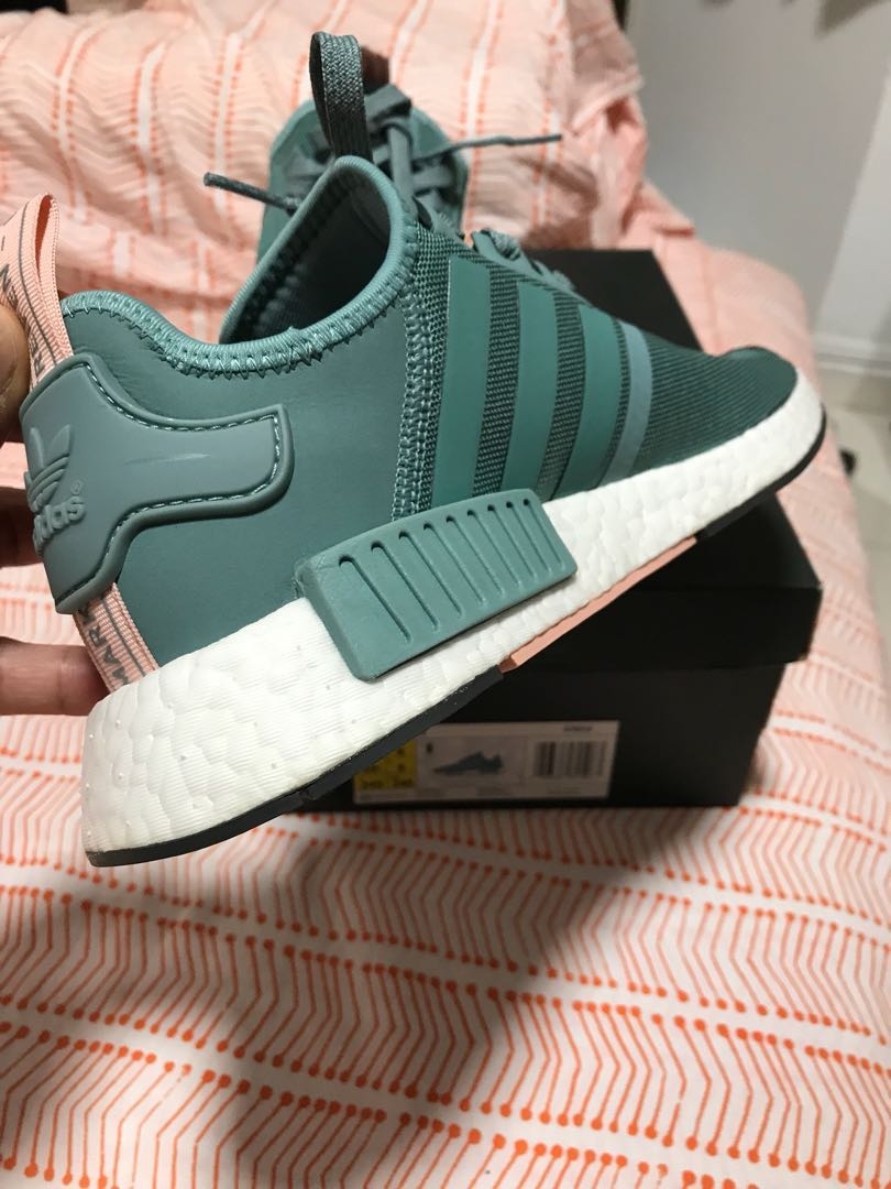 09aa50c2ecb61 Adidas NMD R1 Teal UK6   US 7.5