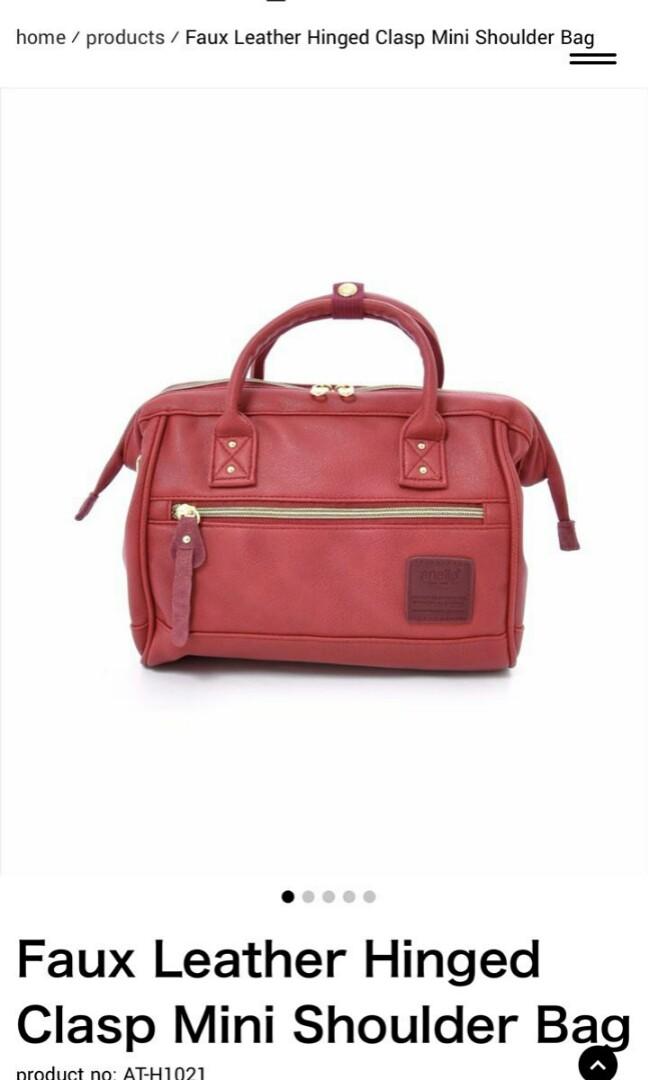 Anello Faux Leather Bag, Women s Fashion, Bags   Wallets, Sling Bags ... 20b771a732