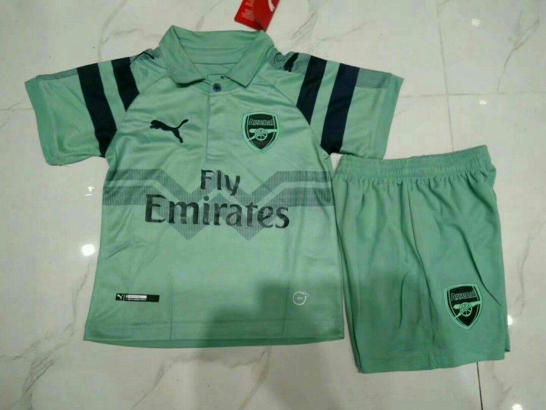 873a6e4c3 Arsenal 18-19 Kids Third Kit
