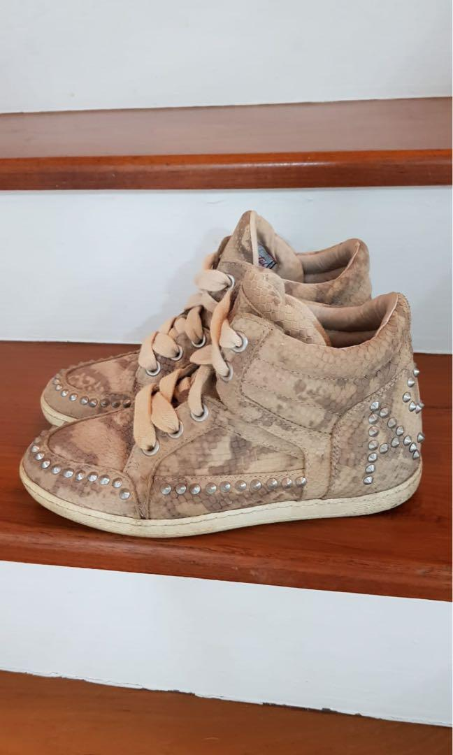 ASH Snakeskin Limited Edition Trainers