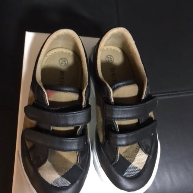 Authentic Burberry Kids Shoes Babies Amp Kids On Carousell