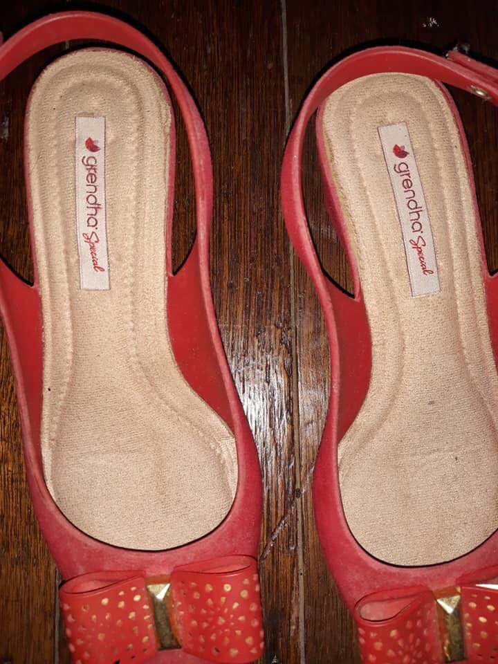 9cefaf99141 Authentic Grendha Slingback Shoes size 5