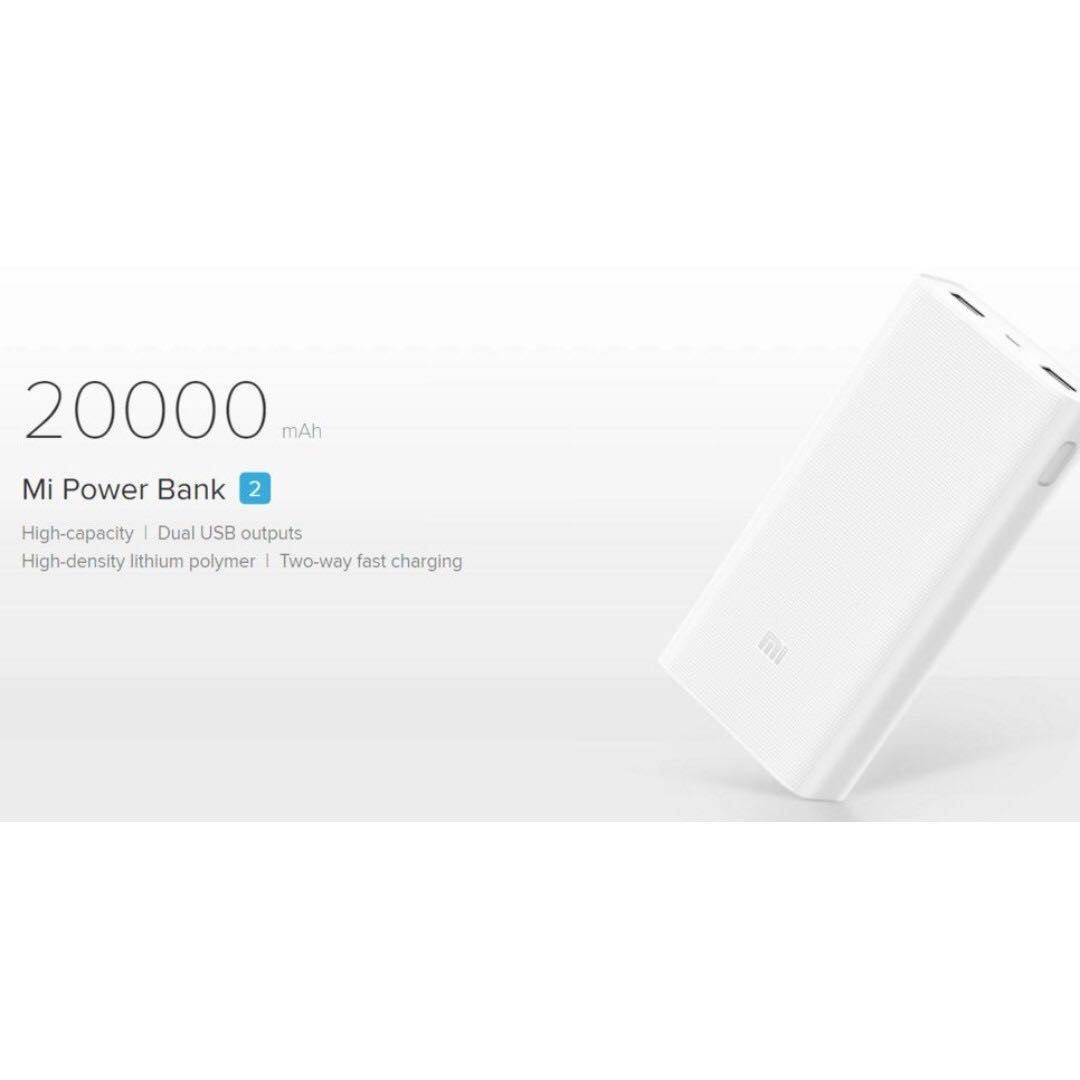 Promo Powerbank Xiaomi Mi Pro 2 10000mah Original Fast Charging Jadwal Libur Jasmine Shopp Bnib Power Bank V2 20000mah Mobile Phones Tablets