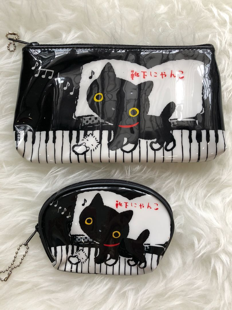 8179b5bd3b Brand New Cute cat pencil case and coin pouch set, Everything Else ...